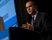Mark Carney presents to the CFA Society